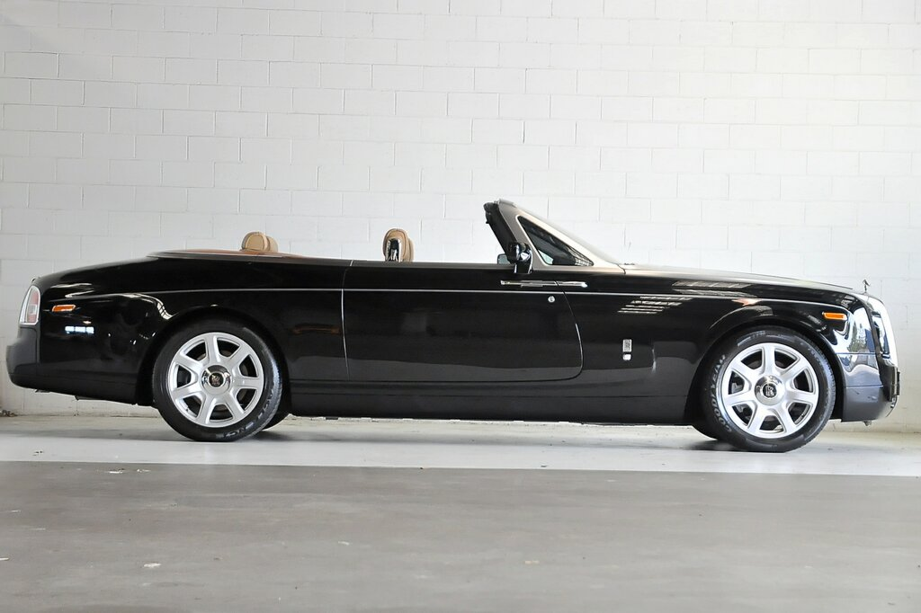 Rolls Royce Drophead Black - Side View